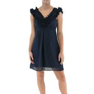LILLY PULITZER Ruffle Neck Empire Waist Dress #QQ8